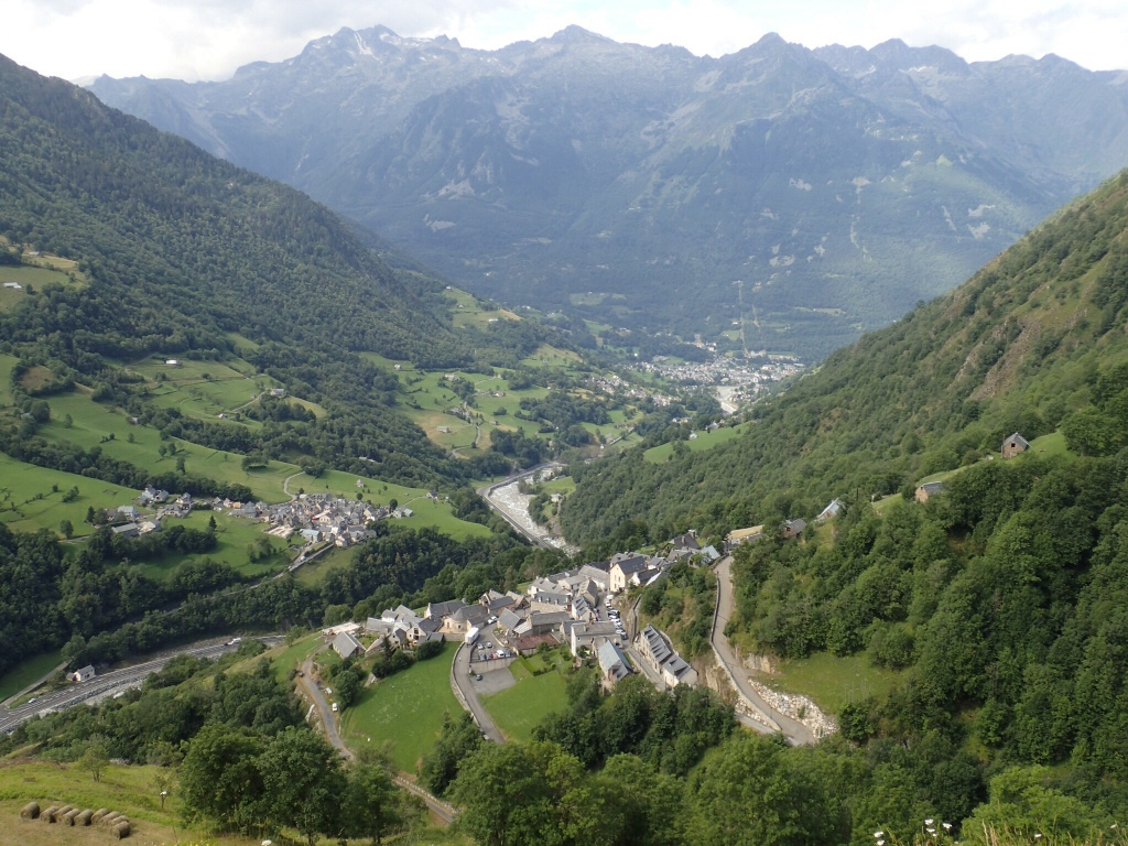 The valley leading to Barèges