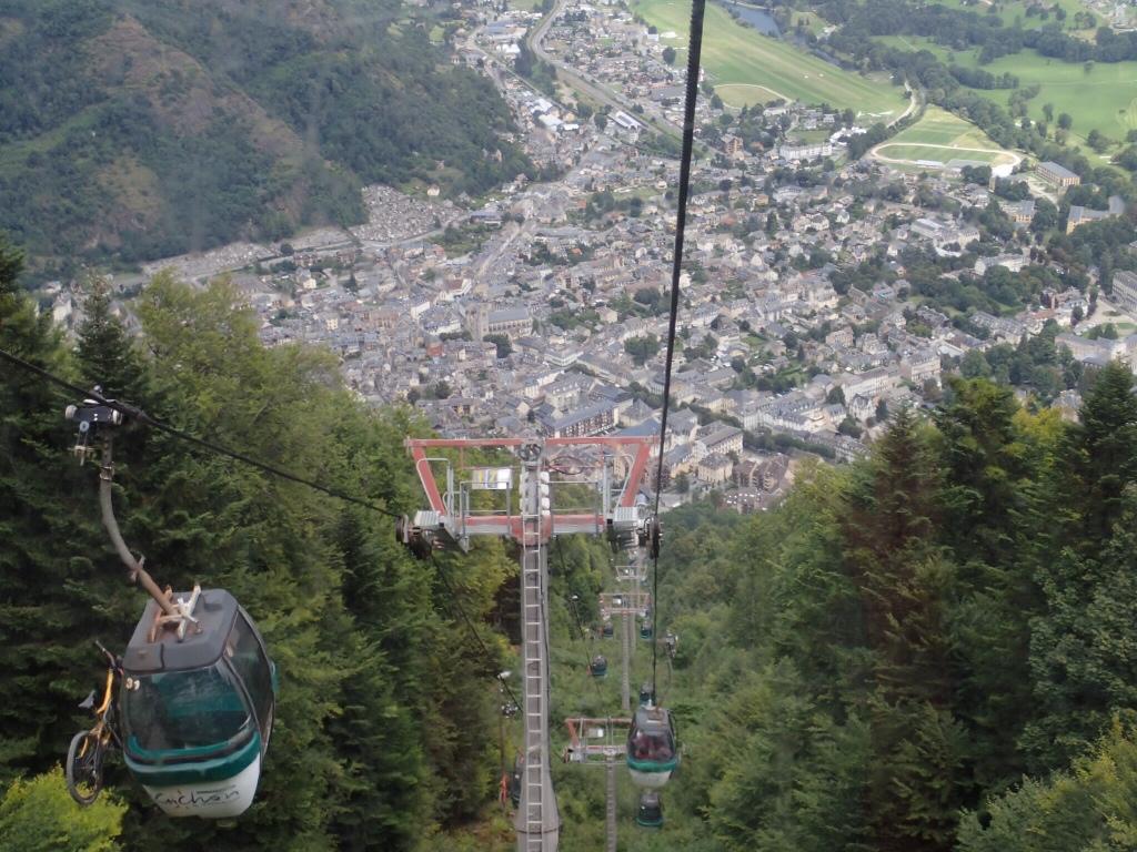 Descending 1150m to Luchon